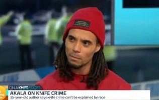 Akala praised after knife crime debate with Piers Morgan on Good Morning Britain