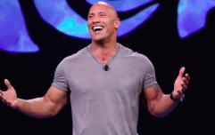 The Rock's main training method for maximum muscle gain