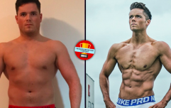 Man gains 36kg then loses it all again to inspire his overweight dad