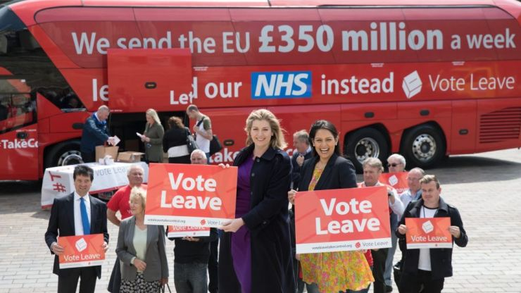 Vote Leave have been fined £40,000 for sending almost 200,000 spam text messages