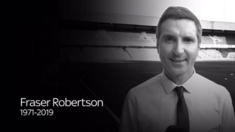 Fraser Robertson: tributes pour in for Sky reporter who died