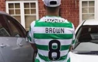 Aberdeen player forced to wear Celtic kit in stag do prank