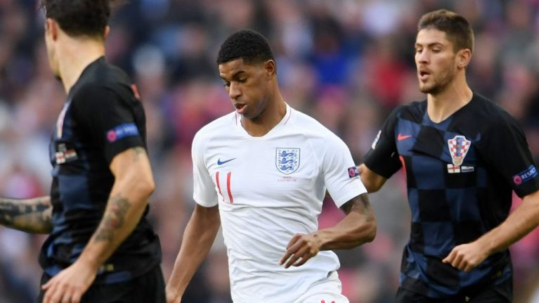 Marcus Rashford pulls out of England squad ahead of Euro 2020 qualification opener