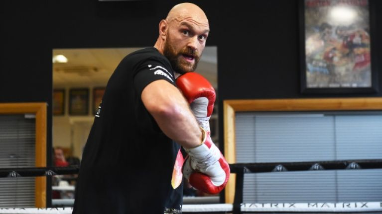 Tyson Fury Reportedly Set To Fight Tom Schwarz On June 15 In