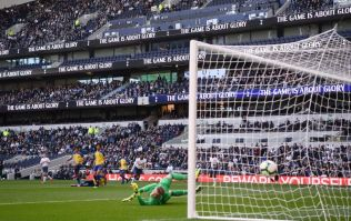 The first ever goal scored at Tottenham Hotspur's new stadium