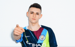 Manchester City release limited edition kit to celebrate six years with Nike