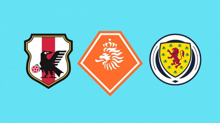 QUIZ: Identify which national sides these 20 badges belong to