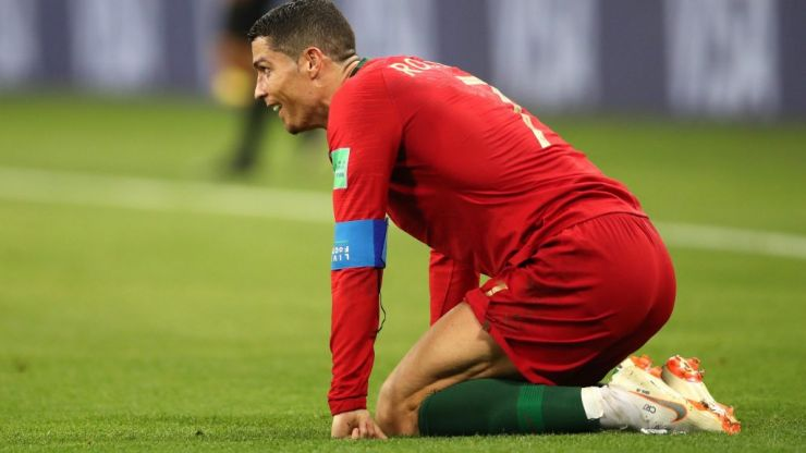 Cristiano Ronaldo forced off with injury during Portugal match against Serbia