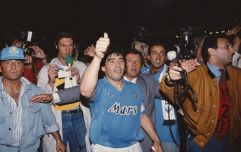 Release date announced for Diego Maradona documentary film