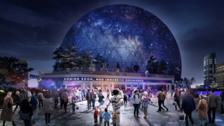 Plans are in place to build London's own Madison Square Garden style arena