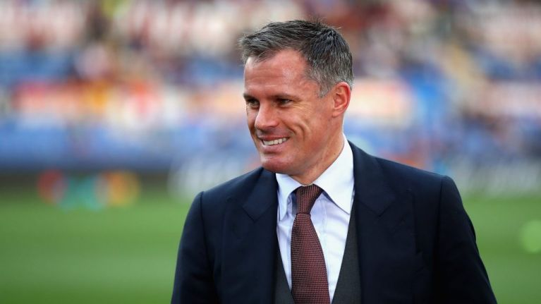 Jamie Carragher takes aim at government with world class Brexit banter