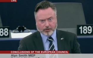 Scottish MEP's speech about Brexit in the EU parliament gets big reception
