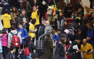 Eurostar passengers stranded after trespasser with St George's flag stops trains