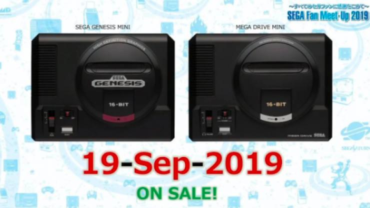 Sega are releasing a Mega Drive Mini for a very decent price