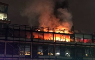 Manchester fire brigade called to restaurant caught in blaze