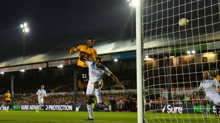 Newport knock Leicester out of FA Cup in magic third round moment