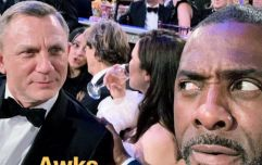 Idris Elba trolls James Bond fans with Golden Globes selfie