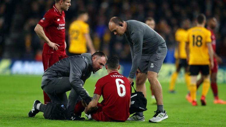 Dejan Lovren injury hands Liverpool debut to 16-year-old Ki-Jana Hoever