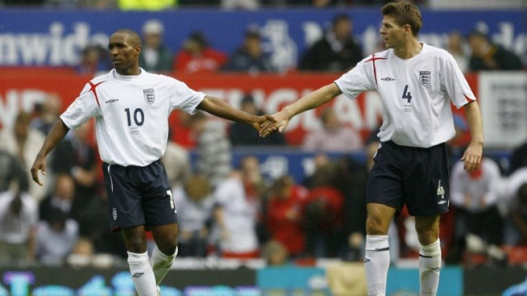 Steven Gerrard explains how he convinced Jermain Defoe to move to Rangers