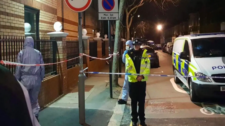 Boy, 14, rammed off moped and stabbed to death by gang in east London