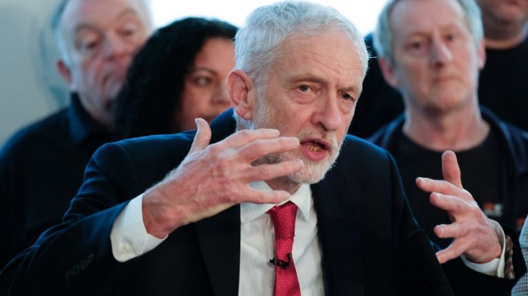 Jeremy Corbyn calls for general election over Brexit
