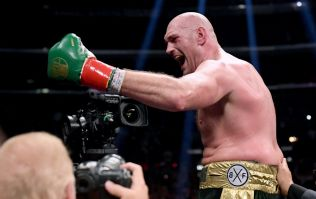Tyson Fury looks incredible on the pads and sends message to Deontay Wilder