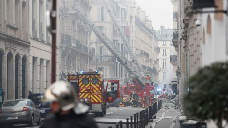 Several people left seriously injured after suspected gas leak explosion in Paris