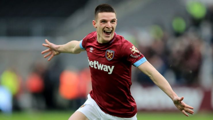 Gary Lineker couldn't resist a few Declan Rice jokes after his West Ham heroics