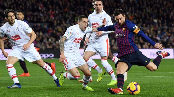 Lionel Messi reaches 400 goal milestone 63 games quicker than Ronaldo