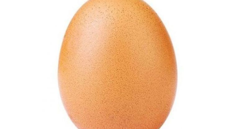 This humble egg is now Instagram's most liked photo ever