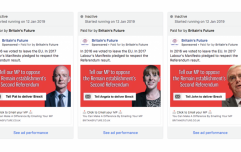 Revealed: The targeted Facebook ad campaign run against Labour MPs by pro-Brexit group