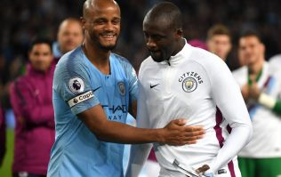 Yaya Toure picks his best XI of former teammates and it's utterly bizarre