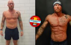 Inspirational man defeats skin cancer before becoming bodybuilder