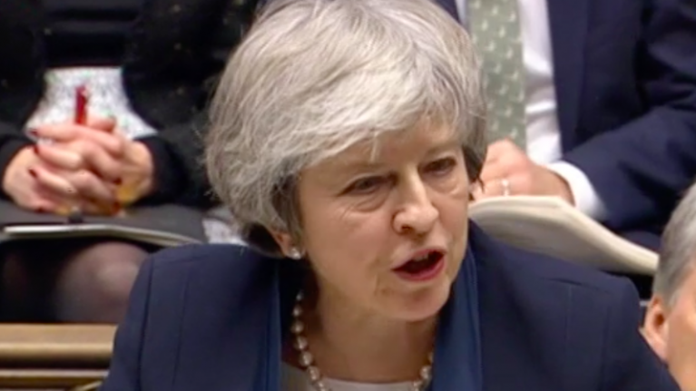 Theresa May's Brexit deal suffers largest defeat in Commons history