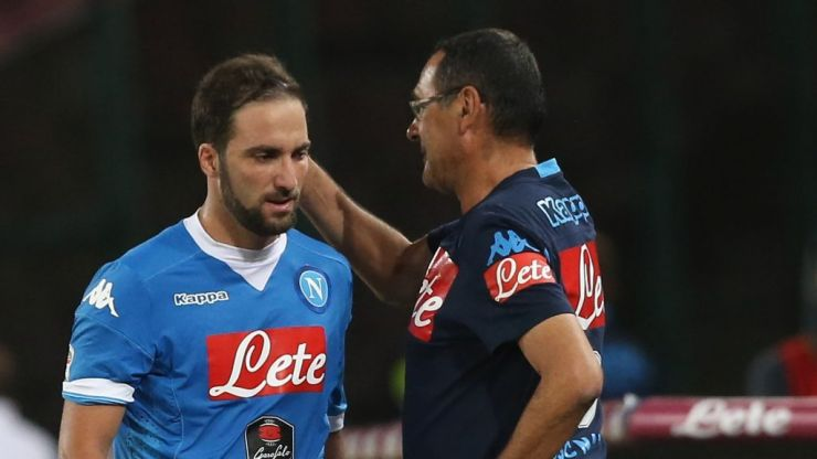 Gonzalo Higuain to reunite with Sarri after Chelsea and Juventus agree loan deal