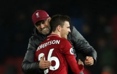"Jurgen Klopp reveals Andy Robertson renewed Liverpool deal in ""almost record time"""