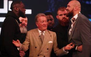 Frank Warren names judging condition for Wilder vs Fury II