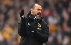Nuno Espirito Santo sent off for enjoying himself after Wolves claim late win against Leicester