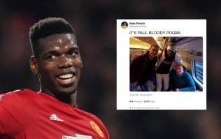 Hilarious Twitter thread details Paul Pogba's meeting with oblivious couple on a train