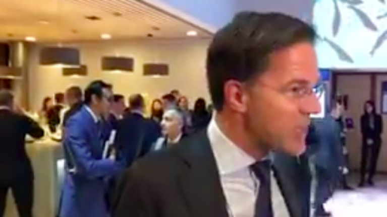 Dutch Prime Minister Bluntly Explains Consequences Of Ending Irish