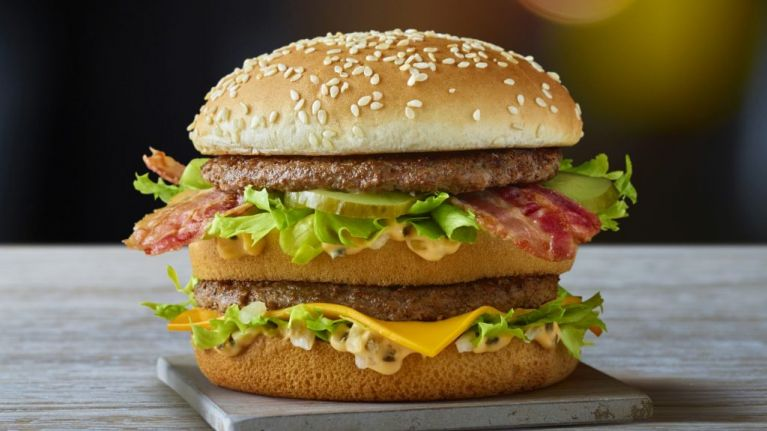 McDonald's is bringing a Big Mac with bacon to the UK for the first time