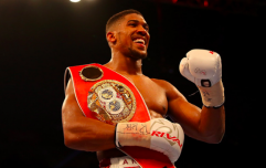 Anthony Joshua shares his favourite fitness snacks for getting in shape