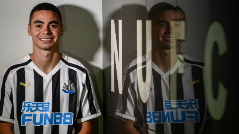 Transition terrier and opposition torturer: Miguel Almiron can light up Rafa Benitez's Newcastle