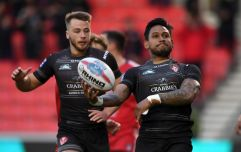 Ben Barba sacked before playing a game for North Queensland Cowboys