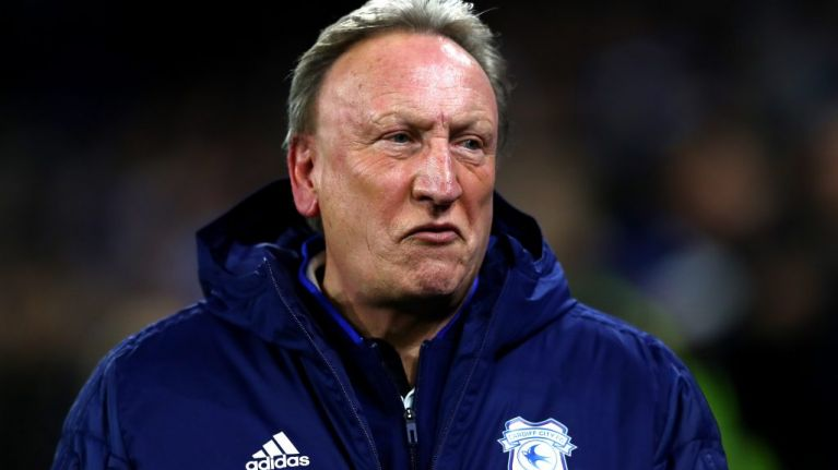 Neil Warnock doesn't realise cameras are rolling and has some very choice words for Gary Lineker