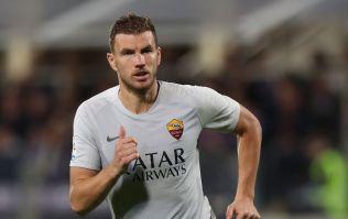 Edin Džeko given two game ban for abusing referee during Fiorentina thrashing