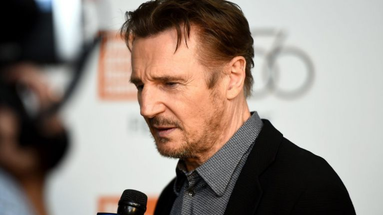"""Liam Neeson says he wanted to attack a """"black b*****"""" after finding out about a loved one being raped"""