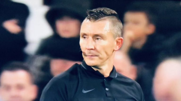 Linesman absolutely slated for terrible haircut during West Ham - Liverpool game