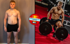 Fitness coach gets ripped while battling brain tumour