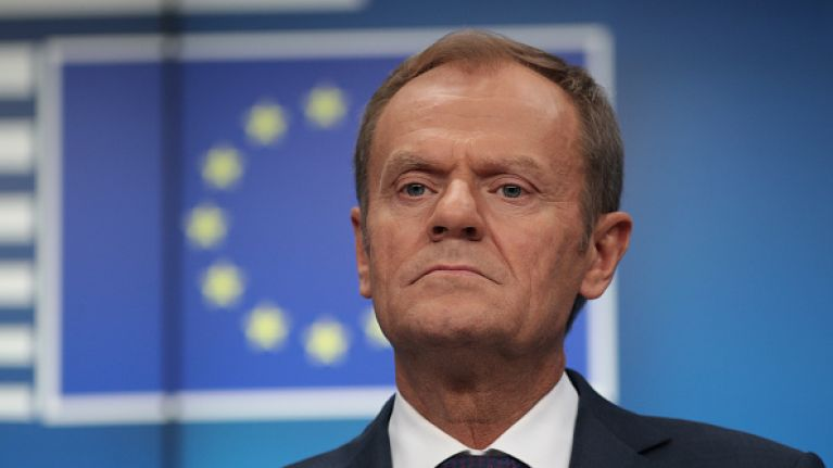 BBC faces backlash for reporting Donald Tusk as saying there's a 'special place in hell for Brexiteers'